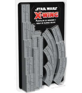 Star Wars X-Wing 2.0: Plantillas de Maniobra y Regla de Alcance Deluxe