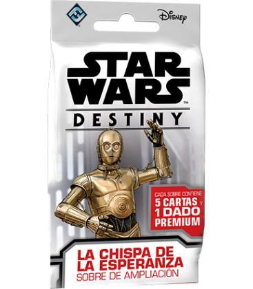 Star Wars Destiny: La Chispa de la Esperanza (Sobre de Ampliación)