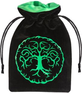Bolsa Q-Workshop - Forest (Black & Green)