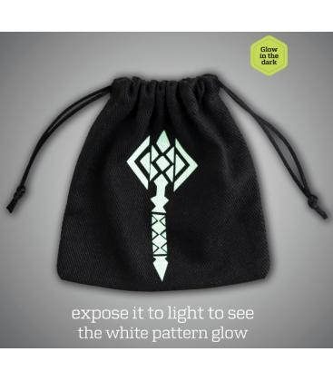 Bolsa Q-Workshop - Hammer (Negro/Brilla en la Oscuridad)