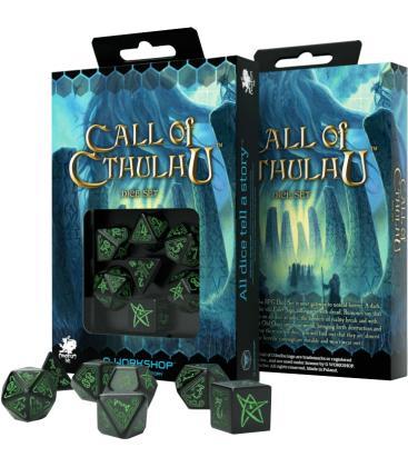 Q-Workshop: Call of Cthulhu (Verde/Negro)