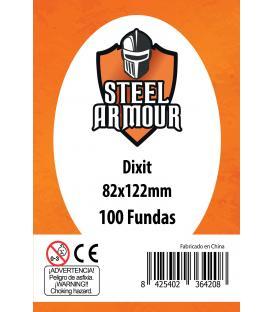 Fundas Steel Armour (80x120mm) Dixit (100) - Exterior 82x122mm