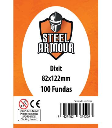 Fundas Steel Armour (80x120mm) Dixit (100) - Exterior 82x122mm