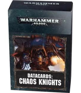 Warhammer 40,000: Chaos Knights (Datacards)
