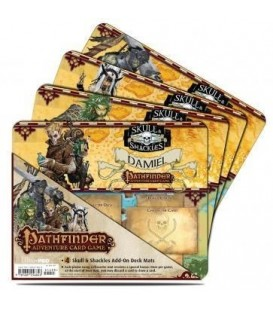 Pathfinder: Skull & Shackles (Pack 4 Mini Tapetes)