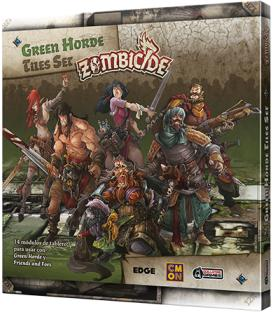 Zombicide Green Horde: Tiles Set