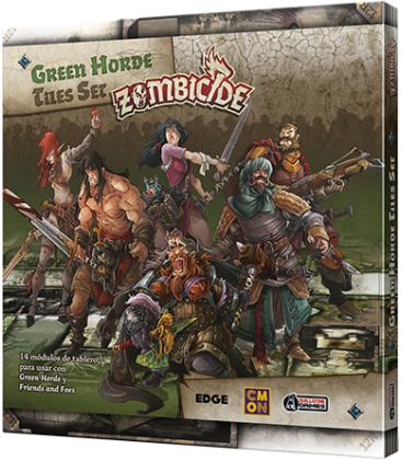 Zombicide Green Horde: Tiles Set