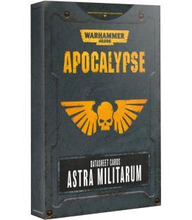 Warhammer 40,000: Astra Militarum (Apocalypse Datasheet Cards) (Inglés)