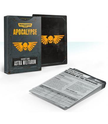 Warhammer 40,000: Astra Militarum (Apocalypse Datasheet Cards)
