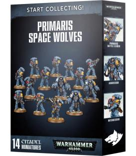 Warhammer 40,000: Primaris Space Wolves (Start Collecting!)