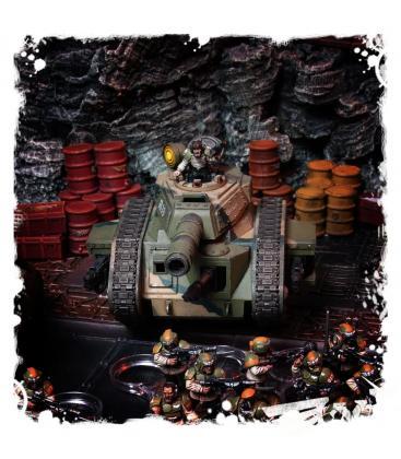 Warhammer 40,000: Astra Militarum Leman Russ Battle Tank