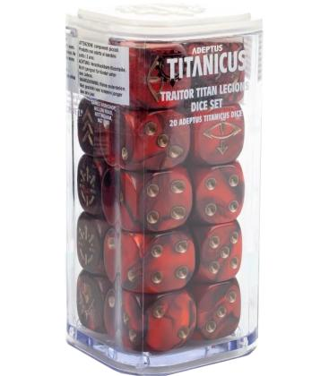 Adeptus Titanicus: Traitor Titan Legions (Dice Set)