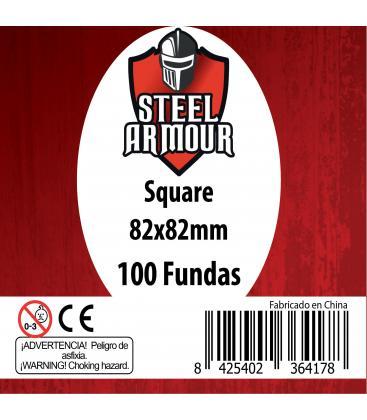 Fundas Steel Armour (80x80mm) Estándar (100) - Exterior 82x82mm