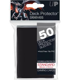 50 Fundas Ultra Pro (66x91mm) Deck Protector - Negro
