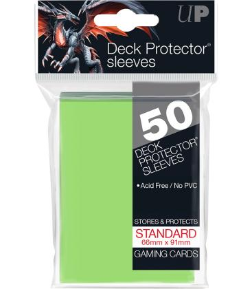 50 Fundas Ultra Pro (66x91mm) Deck Protector - Verde Lima