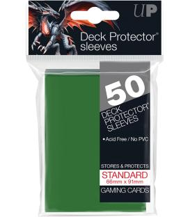 50 Fundas Ultra Pro (66x91mm) Deck Protector - Verde