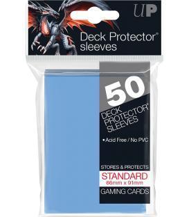 50 Fundas Ultra Pro (66x91mm) Deck Protector - Azul Claro