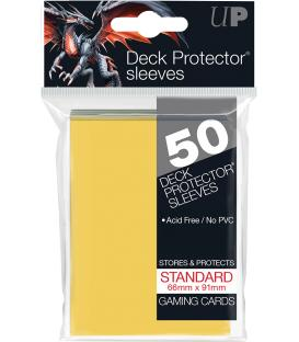 50 Fundas Ultra Pro (66x91mm) Deck Protector - Amarillo