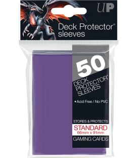 50 Fundas Ultra Pro (66x91mm) Deck Protector - Morado