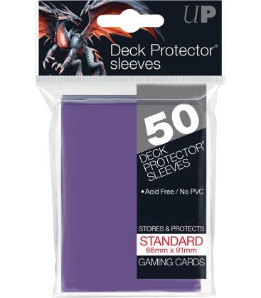 50 Fundas Ultra Pro (66x91mm) Deck Protector - Morado
