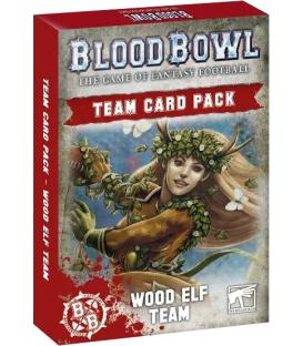 Blood Bowl: Wood Elf Team (Card Pack) (Inglés)