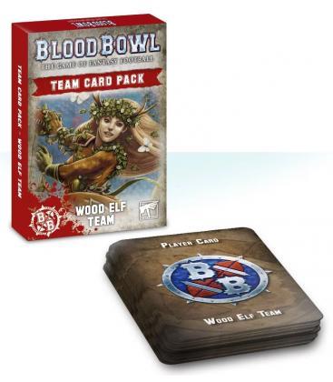 Blood Bowl: Wood Elf Team (Card Pack)