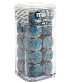 Adeptus Titanicus: Loyalist Titan Legions (Dice Set)