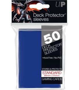 50 Fundas Ultra Pro (66x91mm) Deck Protector - Azul