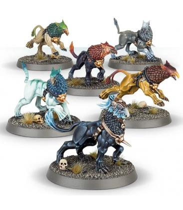 Warhammer Age of Sigmar: Stormcast Eternals (Gryph-Hounds)