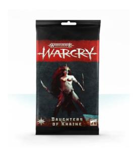 Warcry: Daughters of Khaine (Card Pack)