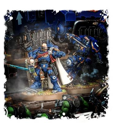 Warhammer 40,000: Space Marines (Primaris Captain in Phobos Armour)