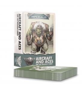 Aeronautica Imperialis: Aircraft and Aces Ork Air Waaagh! Cards (Inglés)
