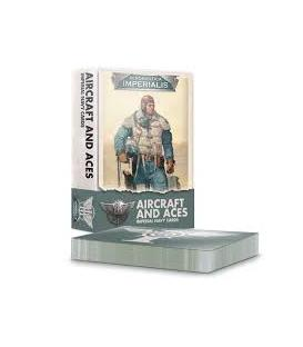 Aeronautica Imperialis: Aircraft and Aces Imperial Navy Cards (Inglés)