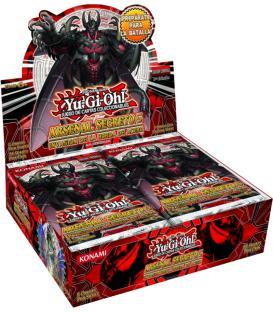 Yu-Gi-Oh! Arsenal Secreto 5: Invasión de la Horda de Acero (Caja de 24 Sobres)