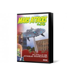 Mars Attacks: Platillo de Ataque Marciano