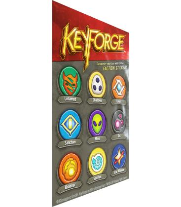 KeyForge Aries Deck Box (Negro)