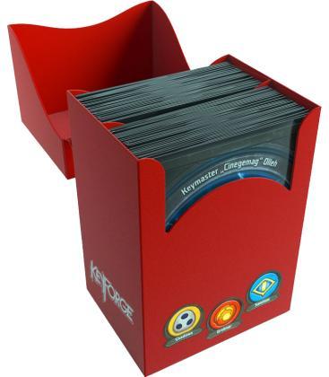 KeyForge Gemini Deck Box (Rojo)