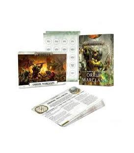Warhammer Age of Sigmar: Orruk Warclans (Warscroll Cards) (Inglés)