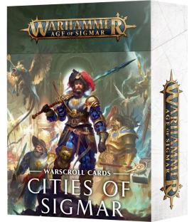 Warhammer Age of Sigmar: Cities of Sigmar (Warscroll Cards) (Inglés)