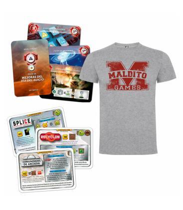 Pack Promos Terraforming Mars / Anachrony + Camiseta de Regalo (Hombre Talla M)