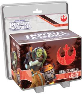 Star Wars Imperial Assault: Hera Syndulla y C1-10P (Blister roto)