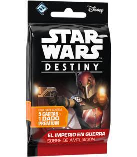 Star Wars Destiny: El Imperio en Guerra (Sobre de Ampliación)(Etiqueta antirrobo)