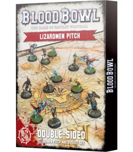 Blood Bowl: Lizardmen (Pitch and Dugout Set)