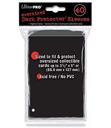 Fundas Ultra Pro Reverso Negro (88,9x127mm) (40)