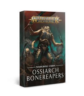 Warhammer Age of Sigmar: Ossiarch Bonereapers (Tarjetas de Hoja de Unidad)