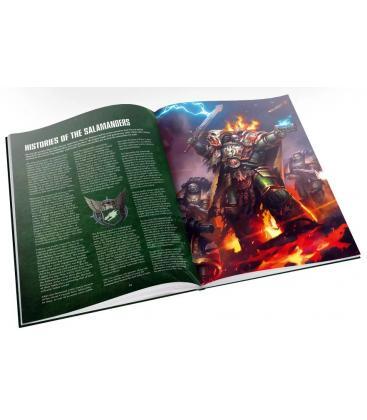 Warhammer 40,000: Salamanders (Suplemento de Códex)