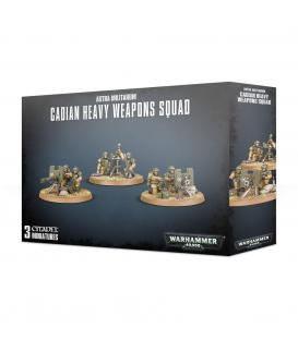 Warhammer 40,000: Astra Militarum Cadian Heavy Weapons Squad
