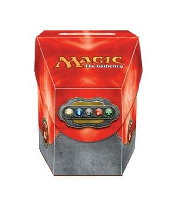 Magic the Gathering: Commander Deck Box (Rojo)