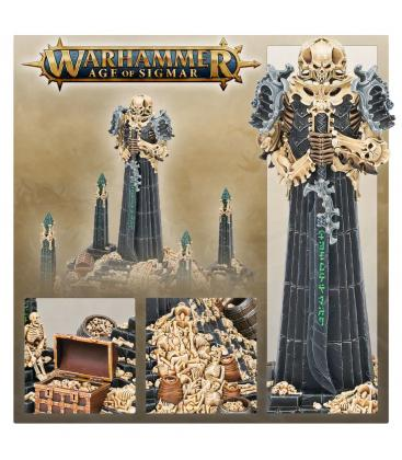 Warhammer Age of Sigmar: Ossiarch Bonereapers (Bonetithe Nexus)