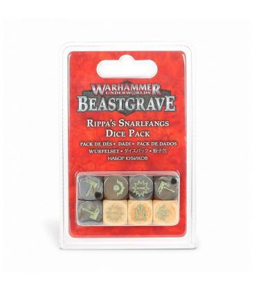 Warhammer Underworlds Beastgrave: Rippa's Snarlfangs (Dice Pack)